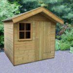 Een klein tuinhuis kopen